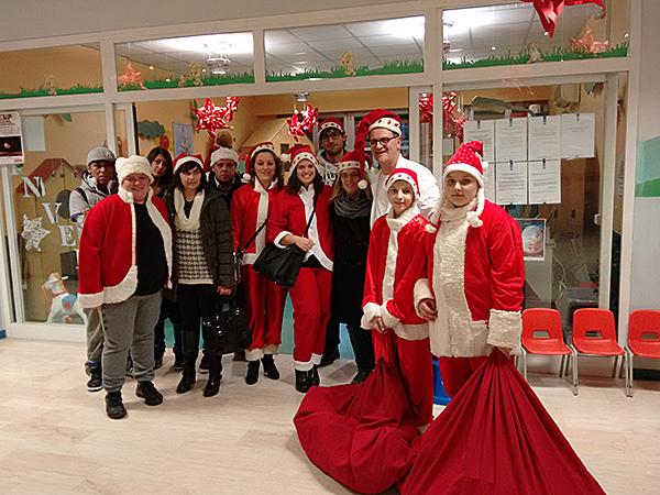 Babbi Natale in Pediatria