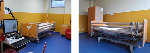 Inaugurazione nuovi locali pediatrici Ospedale Maggiore di Novara