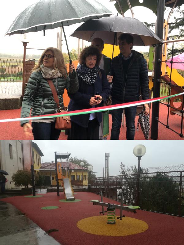 Inaugurazione parchetto giochi