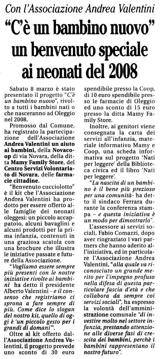 Read more about the article Il Cittadino Oleggese
